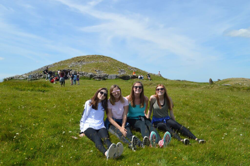 Dublin interns on a day excursion to the megalithic tombs. Photo (c) Leslie Reitz