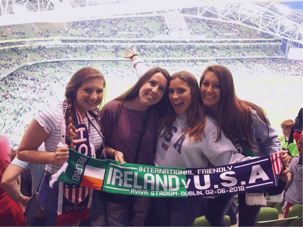 You can't leave Ireland without experiencing a football game with your friends! Bonus if Ireland is playing your home country.