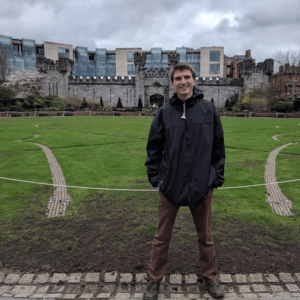 Isaiah Savagueau, Environmental Research Internship in Dublin