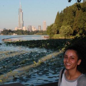 Sabrina Sangha, Internship in Shanghai