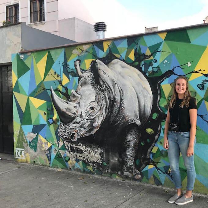 Heather Luedke internship in Buenos Aires